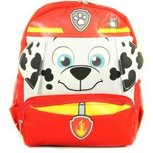 """Nickelodeon Paw Patrol Face 3D Small 12"""" Backpack"""
